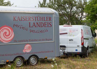 Eiswagen Kaiserstühler Landeis