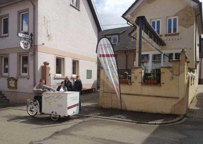 Eisfahrrad Kaiserstühler Landeis